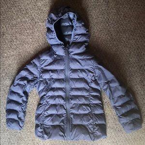 Uniqlo Navy Blue Kid's Down Jacket